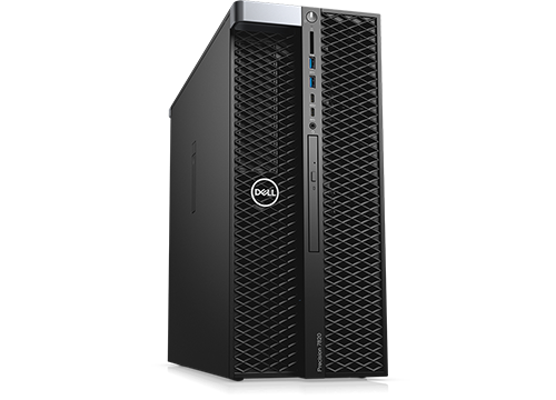 Tour Dell Precision 7820