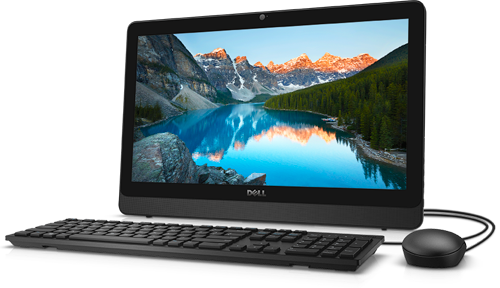 Inspiron 20 3000 Series AIO Non-Touch Computer with Peripherals
