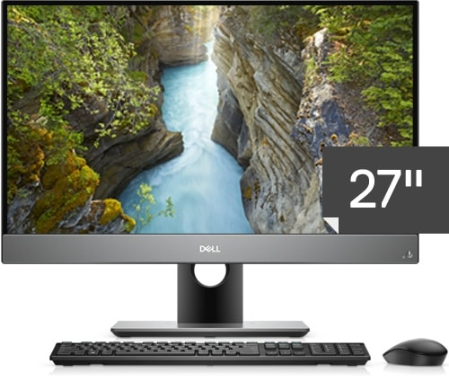 Optiplex 27 7000 Series All-in-One Non-Touch Desktop with Accessories