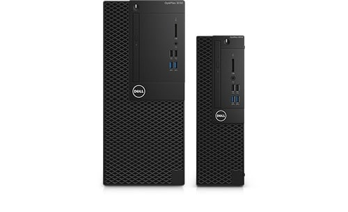 OptiPlex 3000 Series Mini-Tower & SFF Desktop