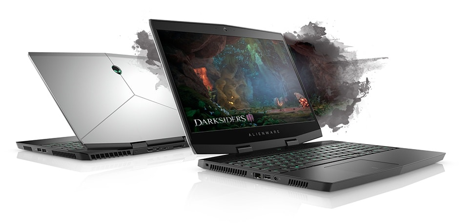 Image result for alienware m15 deliberately slim.
