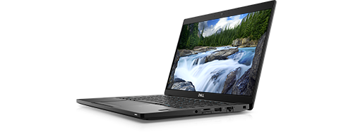 Latitude 13-notebook med touch i 7000-serien