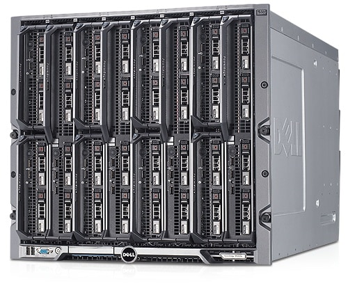 PowerEdge M1000e Servergehäuse