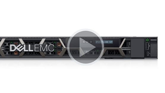 Servidor en rack PowerEdge R440: video