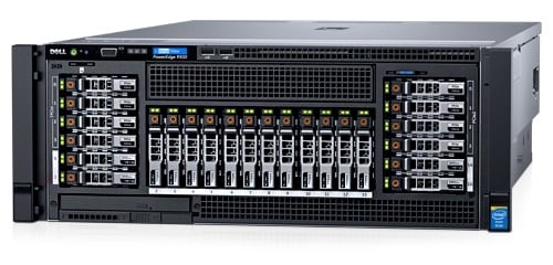 Стоечный сервер PowerEdge R930
