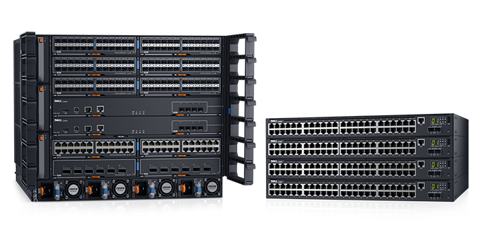 Switchar i Dell Networking C9000-serien