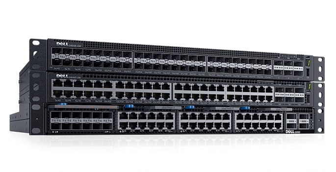 Switches Dell EMC Networking serie S de 10 GbE