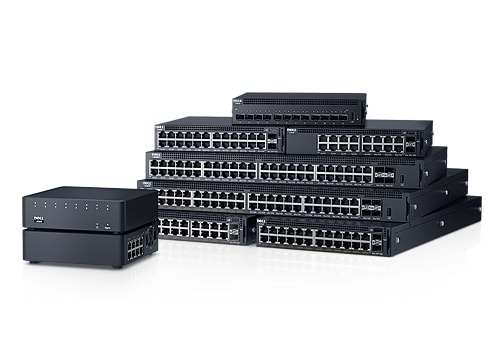 Dell Networking X-serien - smart-administrerede switche