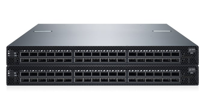 Switch de redes Mellanox: modelos SB7890, SB7800