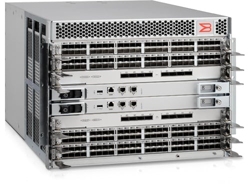 Red troncal Brocade DCX 8510