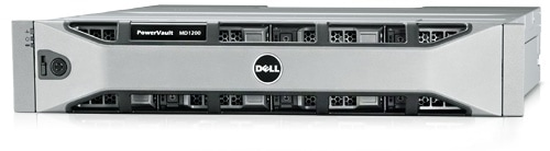 Direct Attached Storage PowerVault MD1200