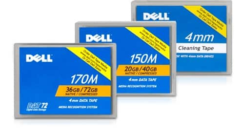 Cartuchos DAT Dell PowerVault