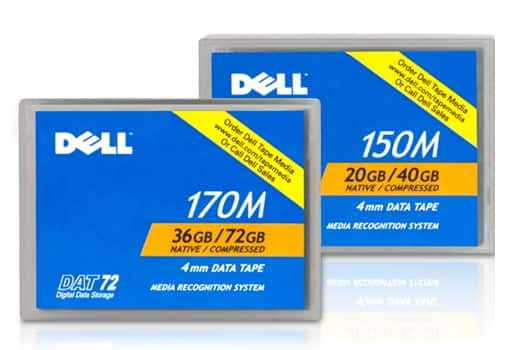 Dell PowerVault DAT Cartridges