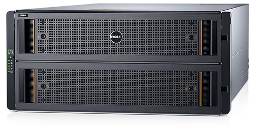 Disksystem i Dell Storage PS6610-serien