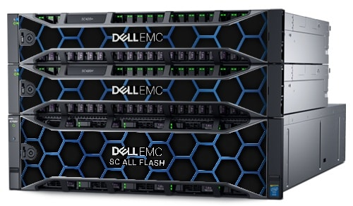 Dell EMC SC All-Flash-lagringsarrayer