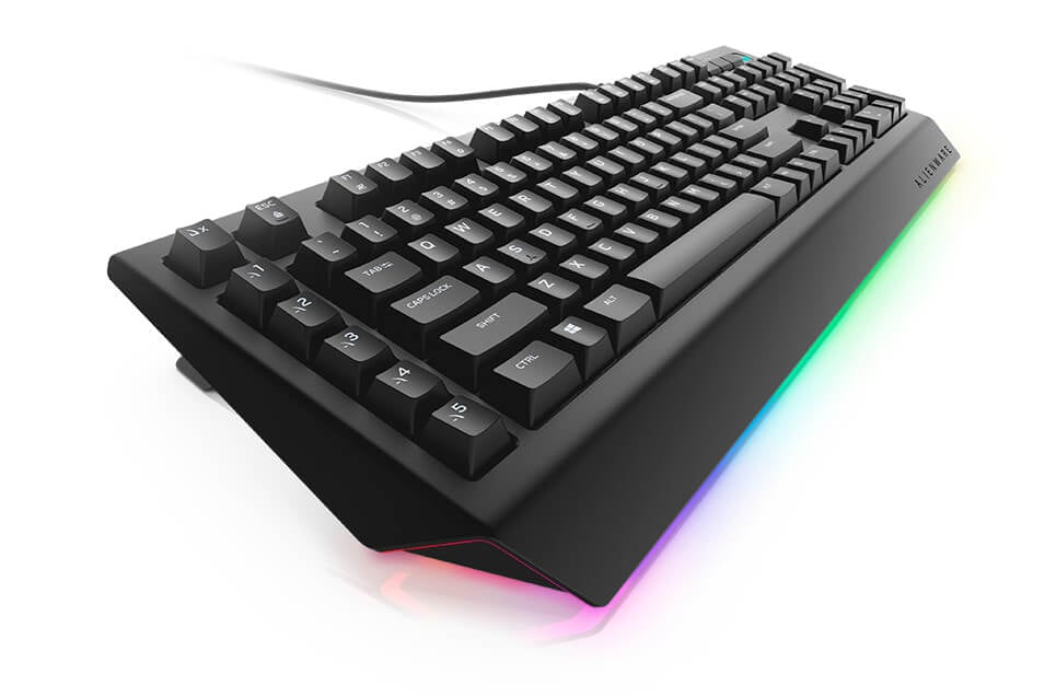 Alienware advanced gaming keyboard AW568 - Otherworldly beauty