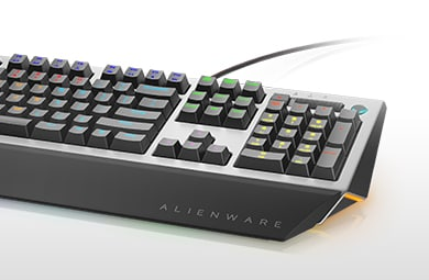 Alienware pro gaming keyboard AW768 - Quick actuation and comfortable typing