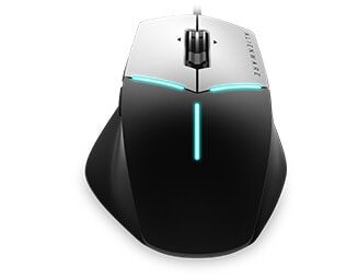 Alienware advanced gaming mouse AW558 - AlienFX lighting effects