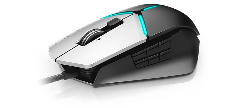 Alienware elite gaming mouse AW958 - The power to perform