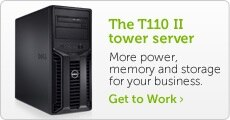 T110 II tower server