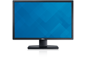 A Dell U2412M UltraSharp monitor