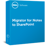 Software - Migrator for Notes to SharePoint