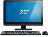 Desktop touch-screen OptiPlex 3011 AIO con periferiche.