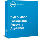 Software Dell DL4000 Backup and Recovery Appliance