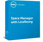 Software Space Manager with LiveReorg