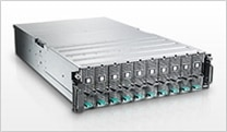 Châssis PowerEdge C410x : format compact