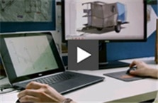Taxa Inc. used Precision Workstations and Solidworks software to redefine the trailer.
