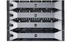 صفيف التخزين طراز Compellent Storage Center من Dell