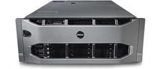 الخادم طراز PowerEdge R910 المركب على حامل