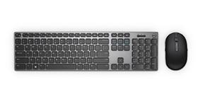 Mouse y teclado inalámbricos Dell Premier | KM717