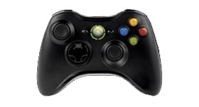 Controlerul wireless Xbox 360