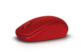 Mouse inalámbrico Dell (rojo): WM126