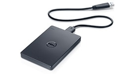 Disco duro portátil de respaldo de Dell: 1TB