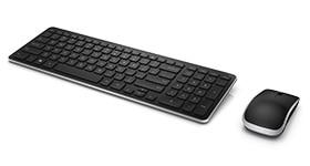 Combo de teclado y mouse inalámbricos Dell: KM714