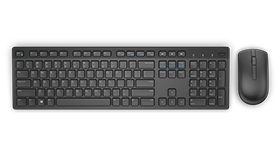 Dell Wireless Keyboard & Mouse (Black) – KM636