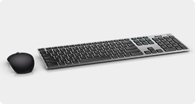 Latitude 12 7280 Laptop - Dell Wireless Keyboard and Mouse | KM717