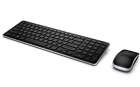 Teclado y mouse inalámbricos de Dell: KM714