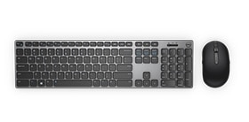 Precision 7820 Tower - Dell Wireless Premium Keyboard and Mouse Combo | KM717