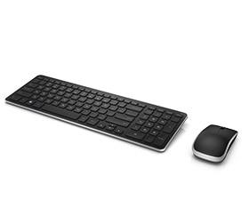 Беспроводные клавиатура и мышь Dell— KM714