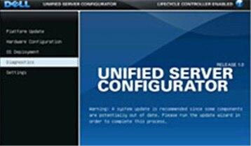 Unified Server Configurator (USC) Interface