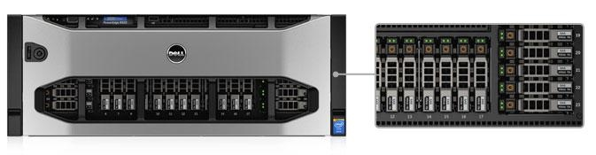 PowerEdge R920 — Dell's fastest 4-socket, 4U server
