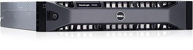 EqualLogic PS6100S-opslagarray (overzicht)