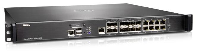 Dell SonicWALL NSA Series — Enterprise-class firewall protection