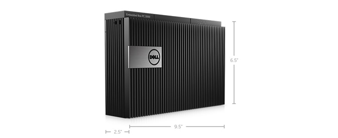 Embedded Box PC 3000 - Dimensions and weight