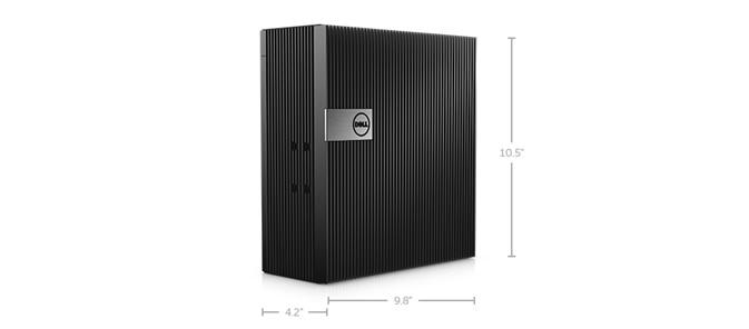Dimensões e peso – Embedded Box PC 5000