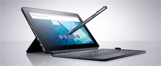 New Latitude 11 5000 Series 2-in-1 - The flexibility of two.
